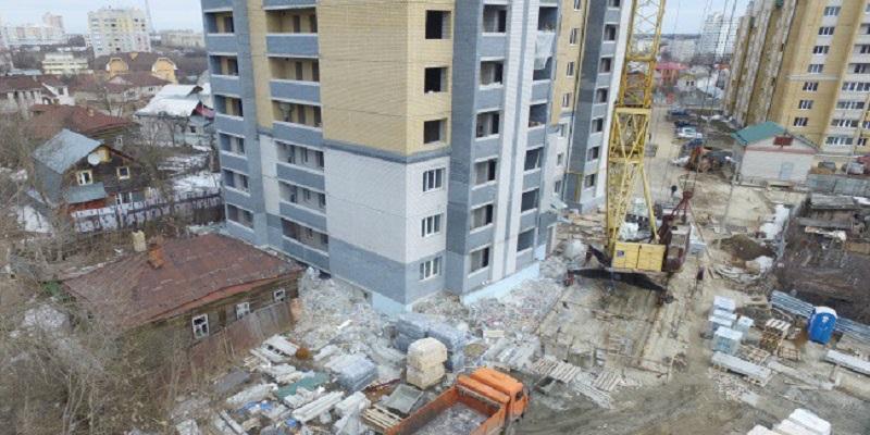 Уплотнят по максимуму?: В Воронеже подготовят проект застройки территории в районе ул. Чапаева