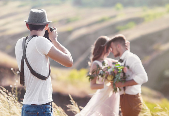 Роль фотографа на свадьбе