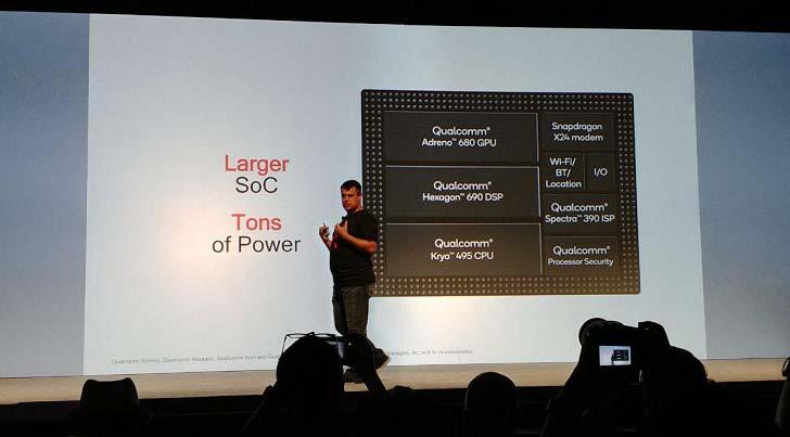 Чип Snapdragon 8cx предназначен для ноутбуков с Windows 10