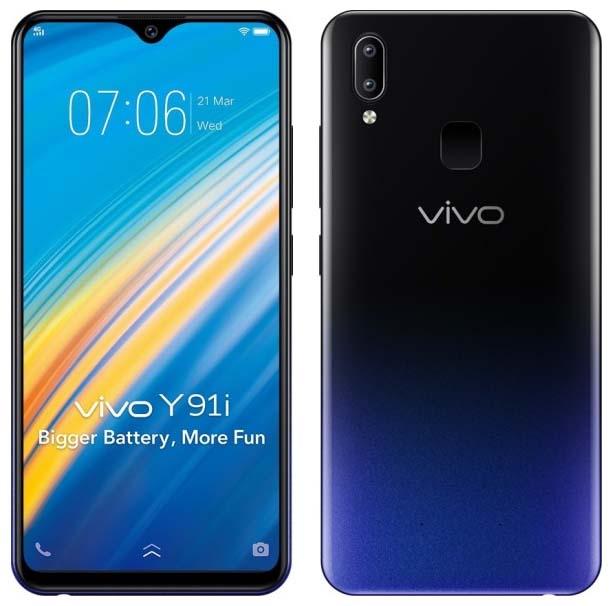 Представлен смартфон Vivo Y91i на чипе Helio P22