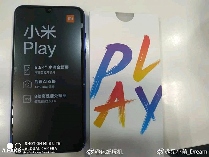 Xiaomi Mi Play: реальные фотографии, цена и характеристики
