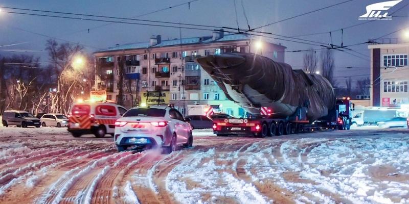 Собери «конструктор»: Из Воронежа в Подмосковье отправили на испытания фюзеляж первого военного транспортника Ил-112В