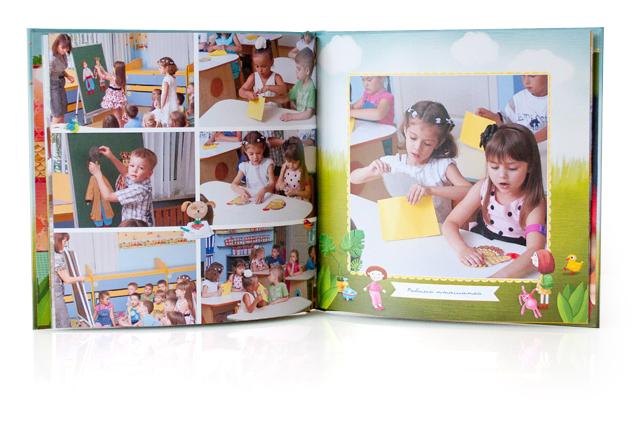 Заказать уникальный фотоальбом для детей