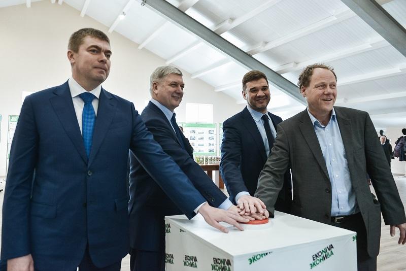 Редкое явление: В Воронежской области открыли четыре новых молочных комплекса