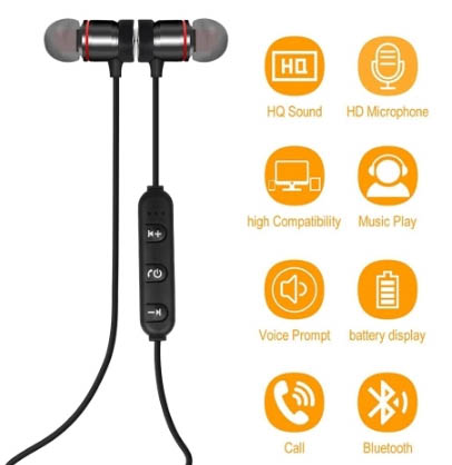 Наушники Wireless BT 4.1 Outdoor Sport In-ear Earphone всего за €3,07!
