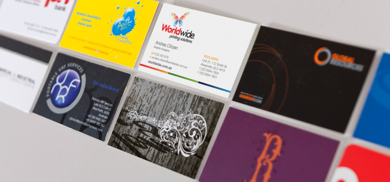 Печать визиток любой сложности