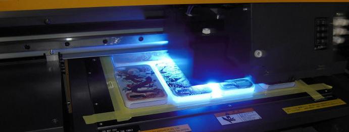 Ультрафиолетовая печать в Москве