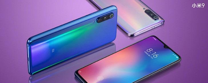 Xiaomi Mi 9 представлен официально: цена – от 5