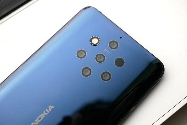 Анонсирован флагман с пятимодульной камерой Nokia 9 PureView