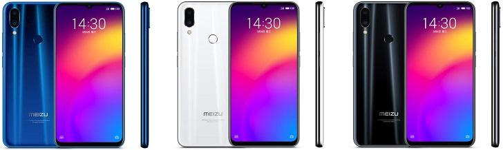 Смартфон Meizu Note 9 представлен официально