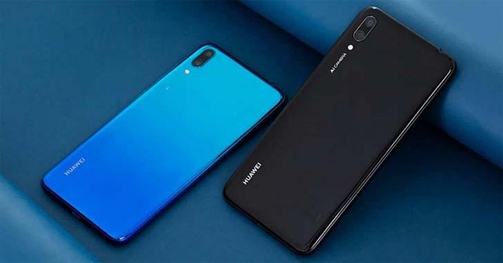 В Европе вышел смартфон Huawei Y7 2019 за 220 евро