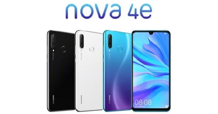 Huawei Nova 4e представлен официально