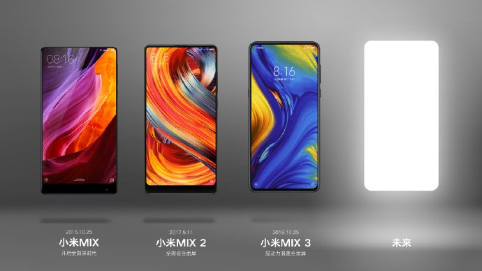 Xiaomi уже намекает на анонс Mi Mix 4