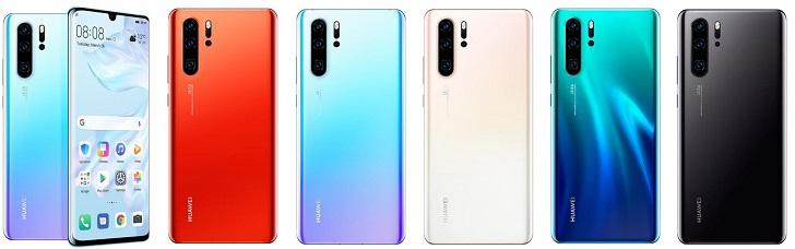 Анонсирован камерофон Huawei P30 Pro