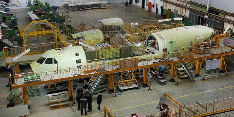 Модернизация воронежского авиазавода под выпуск Ил-112В обойдется в 910 млн руб.