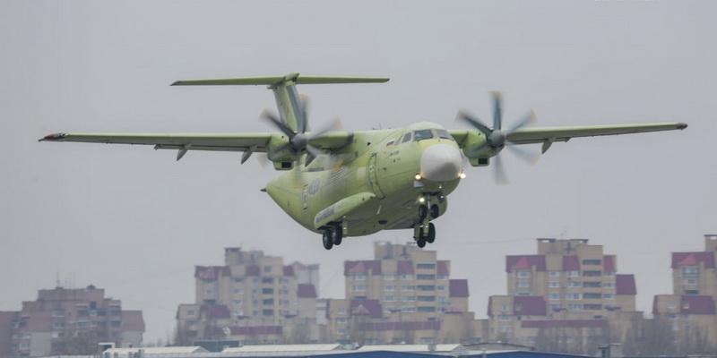 Воронежский самолет Ил-112В совершил первый свой полет