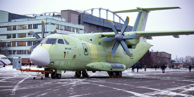 Первый полет произведенного в Воронеже транспортника Ил-112В запланировали на весну