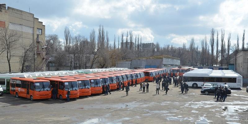 В Воронежскую область поступили 37 новых автобусов