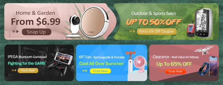 Большая распродажа на онлайн-площадке CooliCool