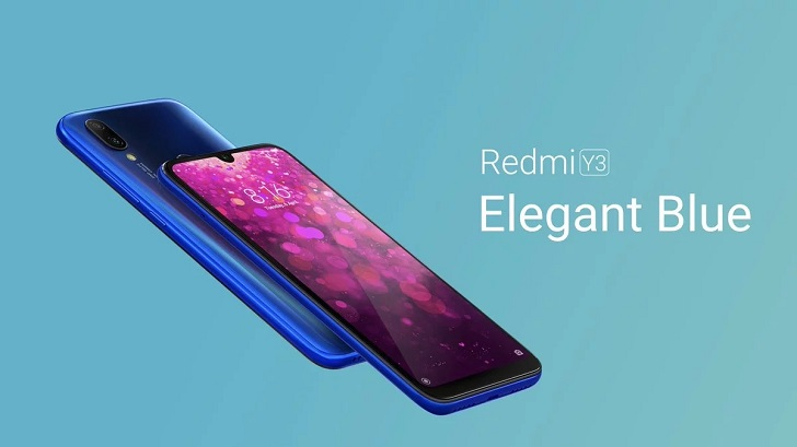 Xiaomi Redmi Y3 представлен официально