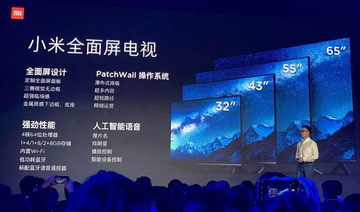 Новые телевизоры линейки Xiaomi Mi TV стоят от 0
