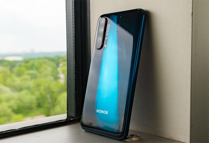 Состоялся дебют смартфонов Honor 20 и Honor 20 Pro