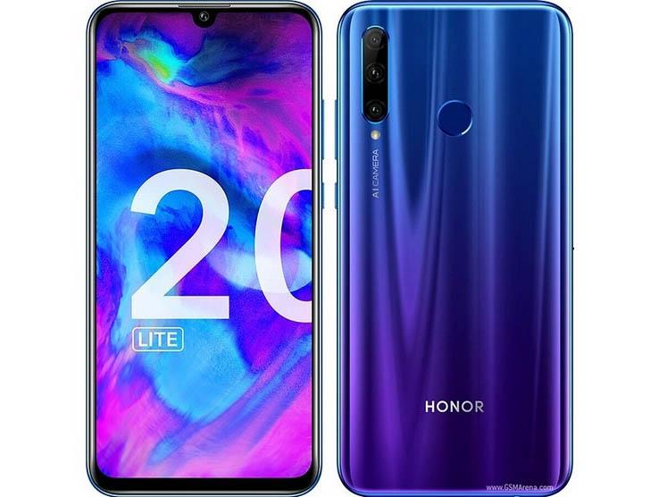 Смартфон Honor 20 Lite оценили в €299