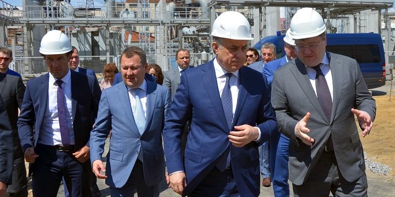 Вице-премьер РФ посетил объекты «Квадры» в Воронеже