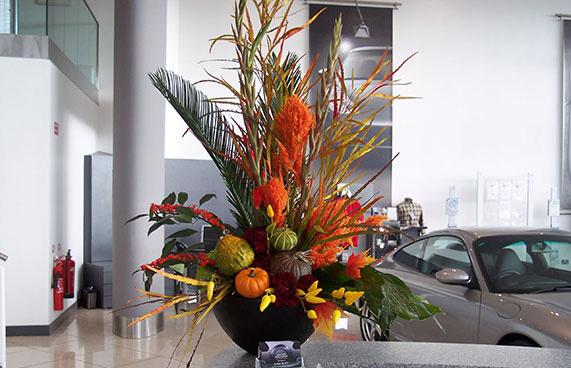 Уникальное оформление торжеств цветами