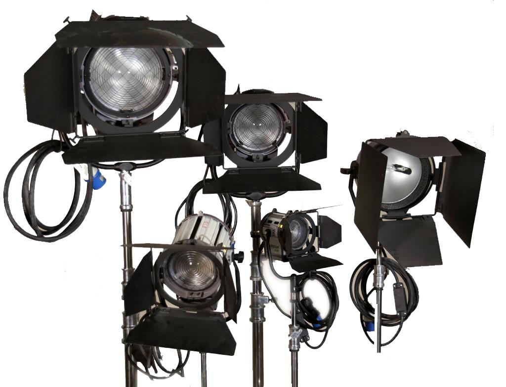 Прокат Профессиональных осветительных приборов