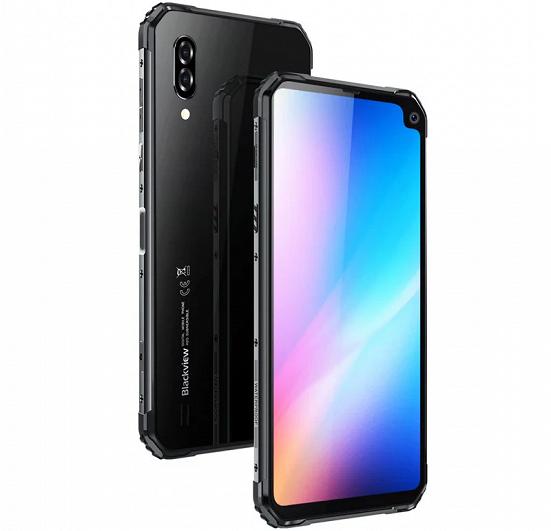 Blackview BV6100 – смартфон с уникальным вырезом