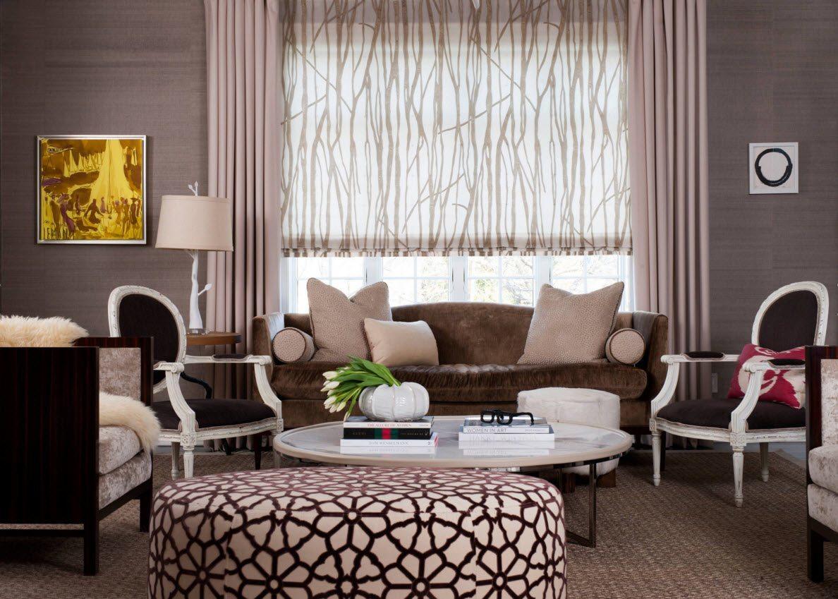 Стоит ли покупать ролл шторы для гостиной?