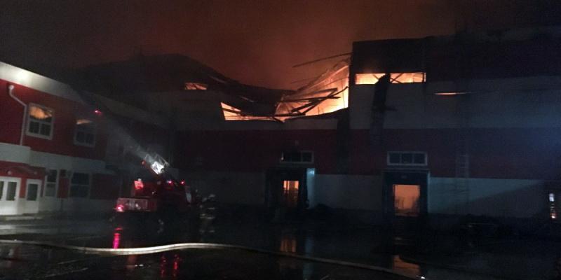 В «Магните» оценили ущерб от пожара в распределительном центре под Воронежем
