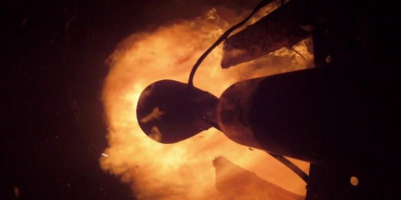 Под Воронежем прошли испытания ракетного двигателя