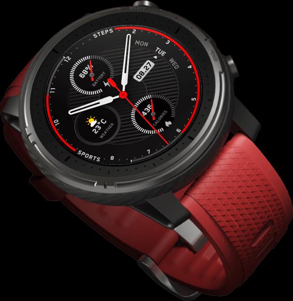 Анонсированы смарт-часы Amazfit Sports Watch 3 – будущие Amazfit Stratos за 180 долларов