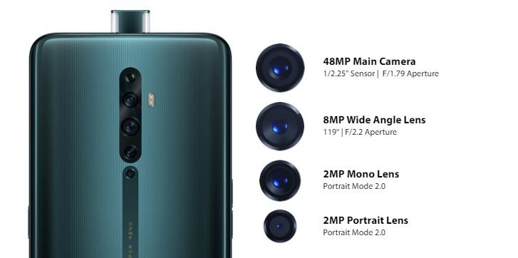 Анонсированы камерофоны OPPO Reno2 Z и Reno2 F
