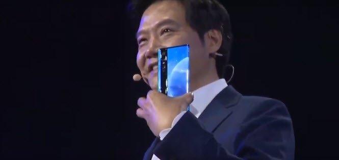 Анонсирован уникальный смартфон Xiaomi Mi MIX Alpha