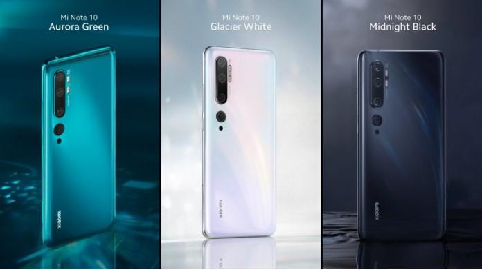 Mi Note 10 и Mi Note 10 Pro представлены официально