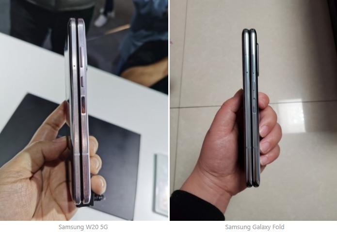 Складной смартфон Samsung W20 5G представлен официально