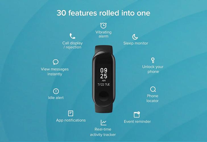 Xiaomi Mi Smart Band 3i – новый спортивный браслет за 18 долларов