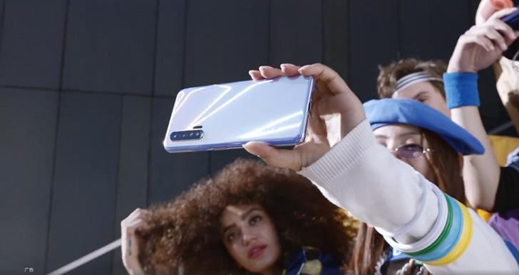 Huawei Nova 6 показали на официальном видео