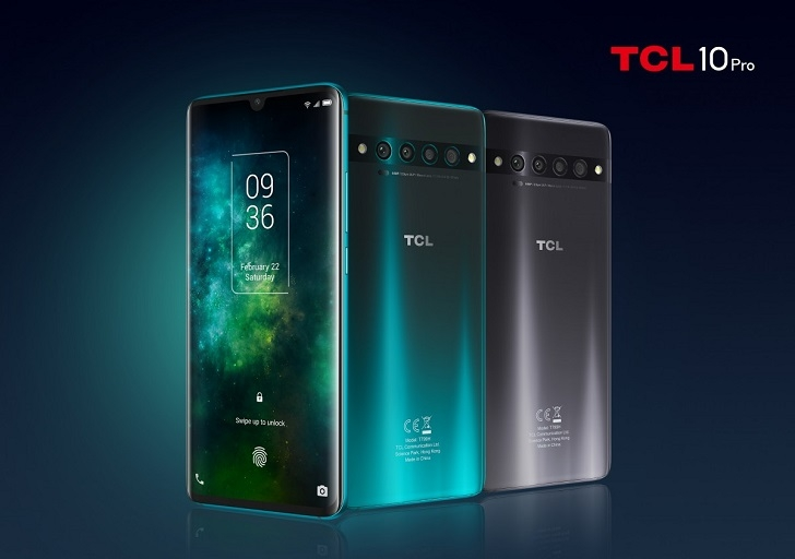 TCL анонсировала на CES 2020 три новых смартфона
