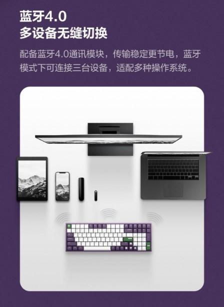 Механическая клавиатура злодей Джокер от Xiaomi появилась на краудфандингу