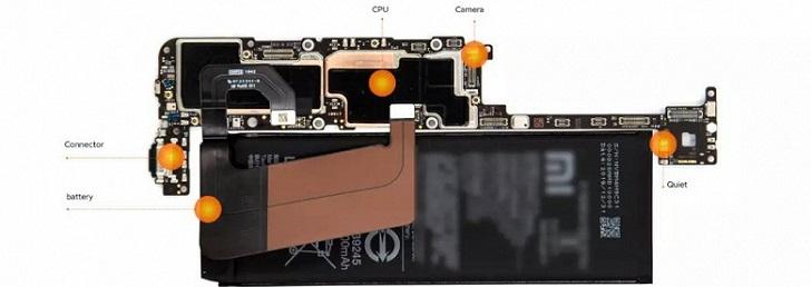 Xiaomi показала флагман Mi 10 изнутри