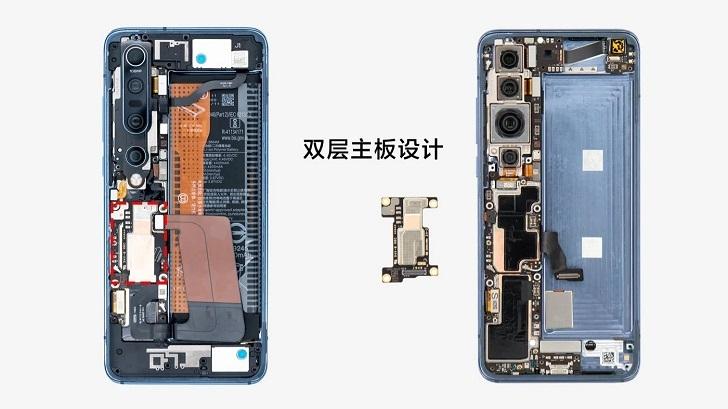 Опубликованы фотографии разборки Xiaomi Mi 10 Pro