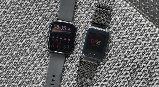 Обзор умных часов Amazfit Bip, сравнение с Amazfit GTS