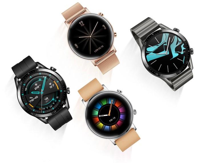 Обновленное ПО смарт-часов Huawei Watch GT 2 теперь позволяет следить за деятельностью дых ...