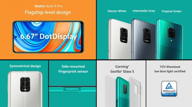 Xiaomi Redmi Note 9 Pro с NFC представлен официально