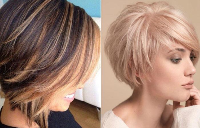 Модные женские стрижки для тонких волос