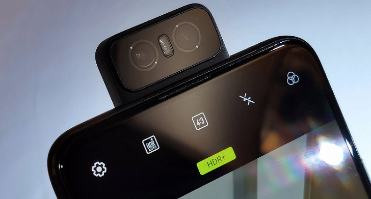ASUS ZenFone 7 и ZenFone 7 Pro получат камеру-перевёртыш